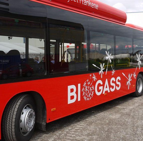 100 biogassbusser i Østfold