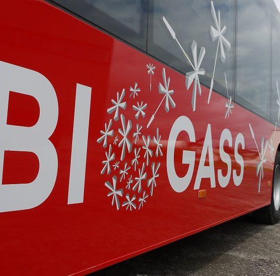 Biogassbusser fikk andreplass i konkurranse om lokale klimatiltak