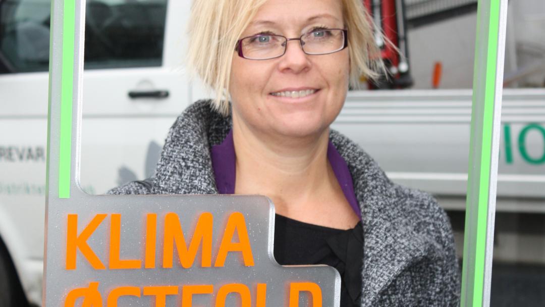 FØRSTE KOORDINATOR: Tyra Risnes var Klima Østfolds første koordinator.