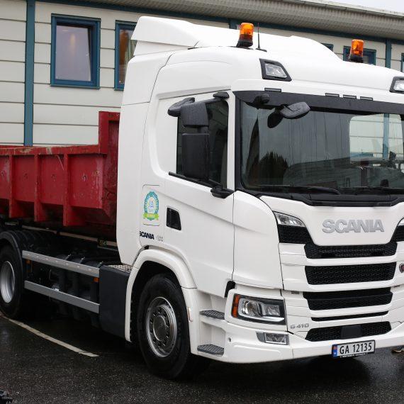 Biogass-lastebil til utlån