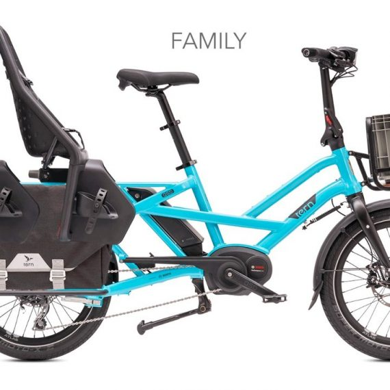 Longtail: Perfekt til stor last på (ganske) små sykler
