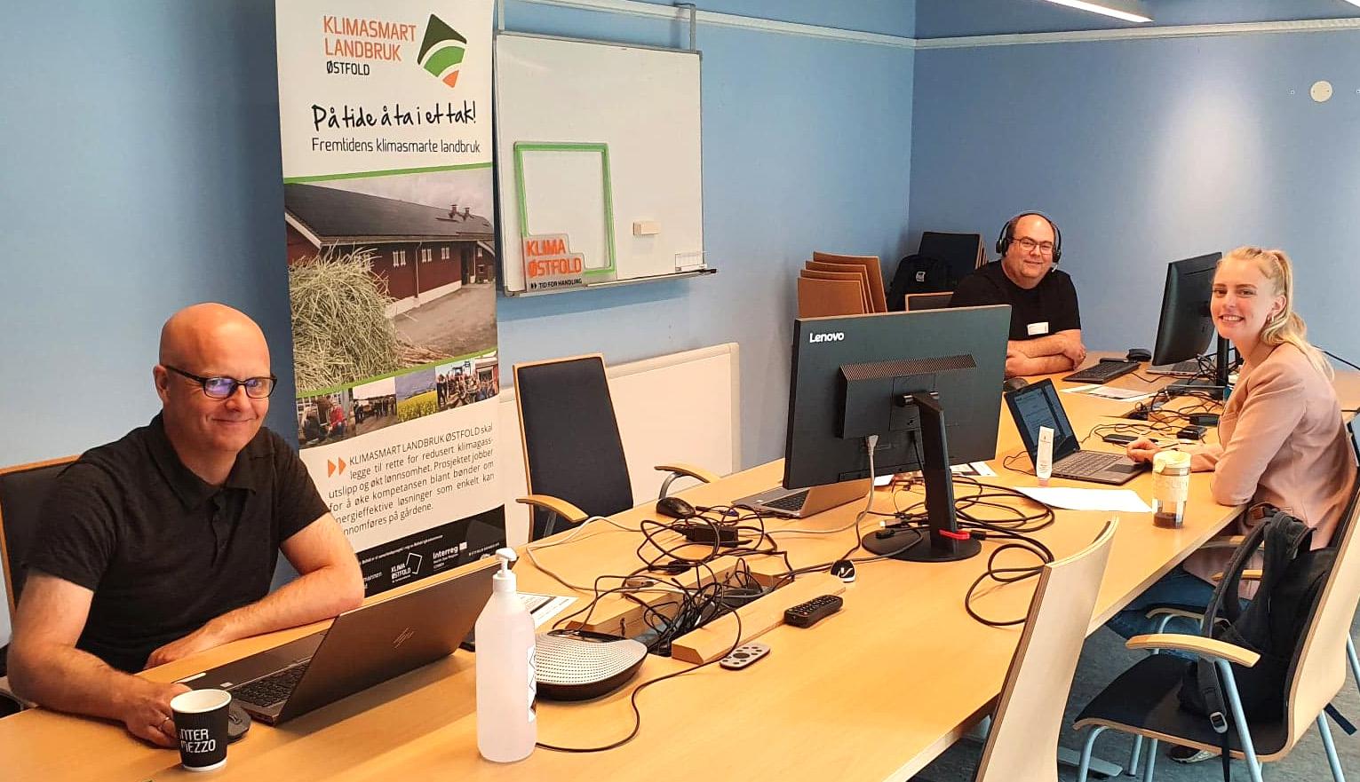 Gode medhjelpere fra Fylkesmannen i Oslo Viken og Biokullnettverket