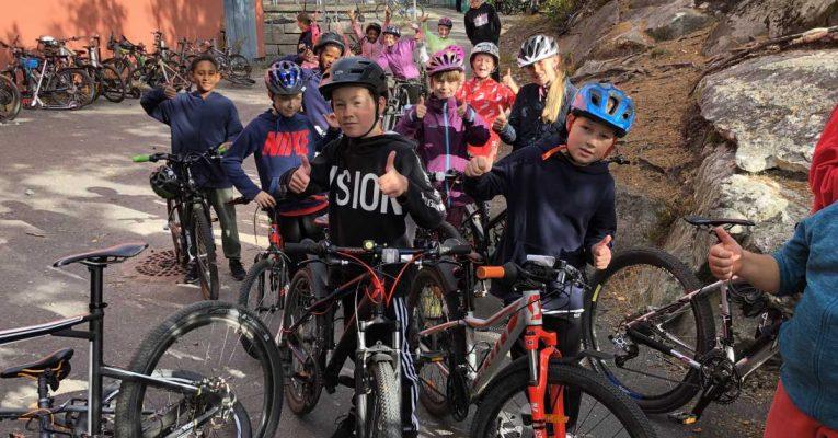 Sykkelfiks og sykkelglede hånd i hånd