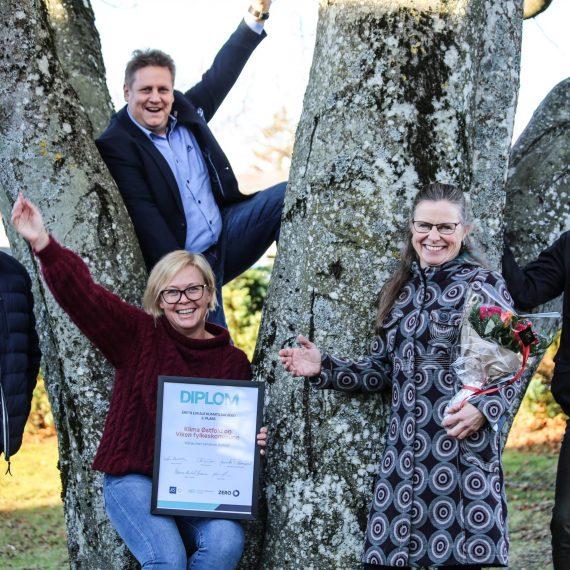 Klimasmart landbruk Østfold kapret 3.plassen i kåringen av «Årets lokale klimatiltak»